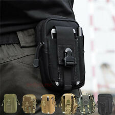 Outdoor Tactical Molle Waist Pack Fanny Phones Pouch Belt Bag Camping Hiking Bag