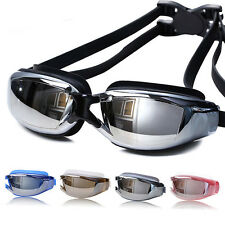 New Professional Adult Waterproof Anti-Fog UV Protect Swimming Glasses Goggles Q