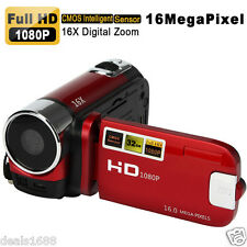 Full HD 1080P 16MP Digital Video Camcorder Camera DV HDMI 2.7'' TFT LCD 16X ZOOM