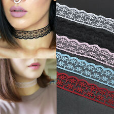 Charm Gothic Color Lolita Lace Sexy Choker Collar Necklace Jewelry Retro Vintage