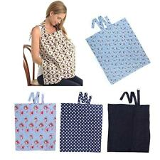 New Mum Breastfeeding Cover Nursing Apron Cover Up Cute Baby Poncho Cotton Shawl