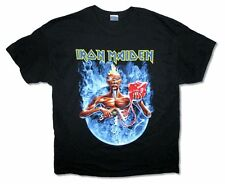 Iron Maiden Smoke Circle Tour 2012 Mens Black Ed Mummy T Shirt New Official