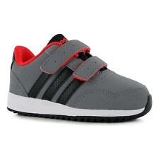 adidas Kids Jogger Nubuck CF Infant Boys Trainers Runners Velcro Casual Shoes