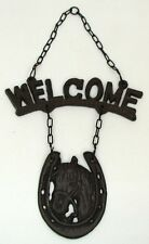 Cowgirl Western Boots Horse Welcome Sign