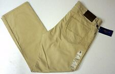 NWT $89 Polo Ralph Lauren Straight 650 Chino Pants Jeans Mens 36 38 Tan NEW