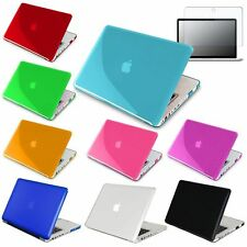 """Crystal hard case+Anti-glare Screen Protector for Apple Macbook Pro 13 13"""" A1278"""