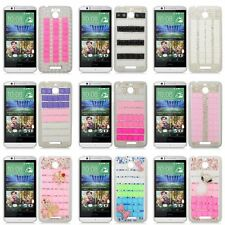 Rhinestone Diamond Bling Hard Case Cover For HTC Desire 510