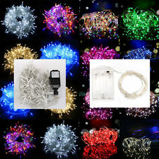 Electric/Battery Powered LED String Fairy Lights 2M-200M 20-1000LED Lighting