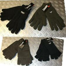 Knitted Gloves warm Thinsulatefeeding olive or black Winter