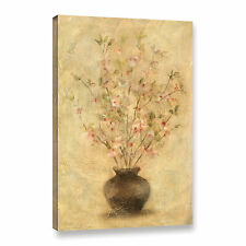 ArtWall 'Apple Blossoms' by Cheri Blum Painting Print on Wrapped Canvas