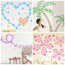 Flowers Removable DIY Home Room Art Wall Decal Decor Mural Sticker |YK