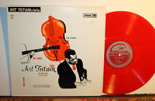 Art Tatum Trio: Art Tatum Trio And Piano Solos By Art Tatum, Red Vinyl 1962 Jazz