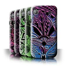 STUFF4 Back Case/Cover/Skin for Samsung Galaxy S/I9000/Henna Paisley Flower