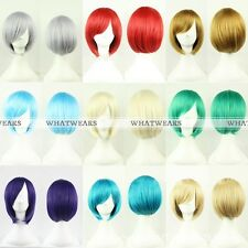 Short Heat Resistant Cosplay Anime Party Wig Fashion MSN Artificial Hair |YK