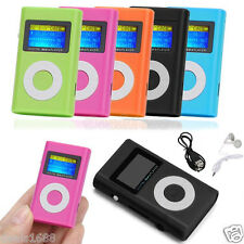 USB Mini Digital MP3 Player LCD Screen Support 2/4/8/16GB/32GB Micro SD TF Card