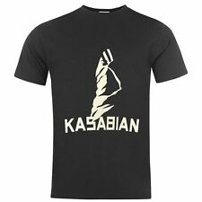 Official Mens Kasabian T Shirt Crew Neck Short Sleeve Cotton Casual Tee Top