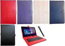 Keyboard Case Leather Cover Stand Wallet Folio fits Samsung Galaxy Tab A SM-T585
