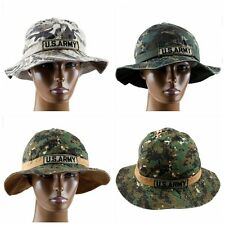 Bucket Hat Fishing Hunting Camouflage Outdoor Summer Sun Casual Visor Cap Unisex