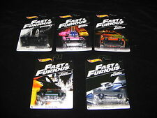 HOT WHEELS- 2016 FAST AND FURIOUS CARS