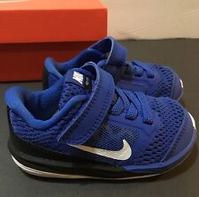 NEW Toddler Nike Kids Fusion (TDV) Royal Blue White CUTE