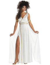 Ladies Greek Grecian Goddess Roman Toga Outfit Fancy Dress Costume