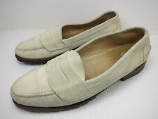 Cole Haan Country Beige Suede Leather Dress Casual Moccasin Penny Loafer 12 M