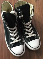 Hi Top Converse Black And White Size 6
