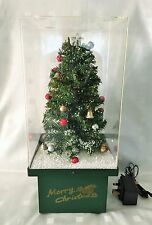 "19"" High Christmas Tree Snowing Light Up Christmas Decoration"