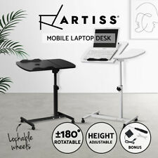 Laptop Desk Stand Tray Notebook Computer PC iPad Bedside Table USB Cooler Fan