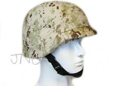 2 IN 1 MILITARY SWAT CQB KEVLAR AIRSOFT PAINTBALL M88 HELMET + COVER MULTI COLOR