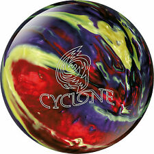 Bowling Ball Ebonite Cyclone red/purple/yellow Reactive / 10 lbs - 15