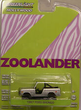 GREENLIGHT COLLECTIBLES 1:64 SCALE DIECAST METAL SILVER 1967 FORD BRONCO