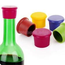 Silicone Wine Beer Cover Bottle Cap Beverage Stopper Cork Kitchen Bar Xmas Party