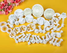 Mix Set Fondant Cake Decorating Icing Plunger Cutter Mould Sugarcraft Tool Party