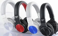3.5mm with Mic Headphone 40mm Speaker Rotatable Stereo Headset for iPhone 6S MP4