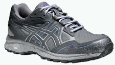 asics ladies Trail - Running - Shoe GEL - FujiStorm grey / purple / blue
