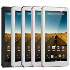 7'' Android 4.4 Dual Core 4GB Tablet PC Dual Camera GPS 3G Dual Sim Smartphone