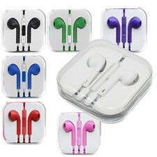 Earbuds Earphone Headset with Volume control Remote Mic for Mobile Call Phone US