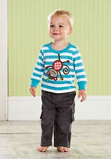 Mud Pie Baby MONKEY PANT SET 352156 Safari Collection