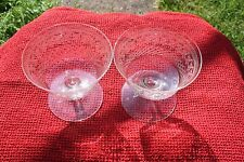 Pair of Pall Mall lady Hamilton Champagne Glasses