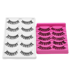 5 Pairs Women's Cosmetic Tool Eye Lashes Extension Makeup Long False Eyelashes