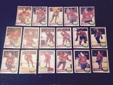 1980-81 OPC MONTREAL CANADIENS Select from LIST NHL HOCKEY CARDS O-PEE-CHEE