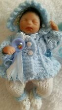 dolls knitted clothes to fit ashton drake heavenly handfuls 5 inch doll
