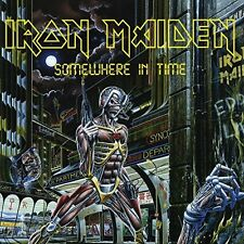 IRON MAIDEN-SOMEWHERE IN TIME  VINYL LP NEW