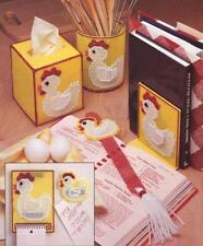 Six Piece Chicken Kitchen Set Plastic Canvas Pattern Instructons