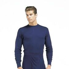Indera Blue Polypropylene Thermal Long Underwear Tops, Shirts