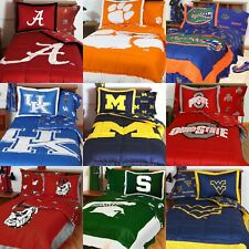 NCAA College Comforter Set - Sports Team Logo Comforter and Sham