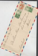 oldhal-Palo Alto, Ca-Air Mail-1935 to Arnhem, Netherlands