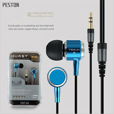 3.5mm In-Ear Headset Earbud Earphone Headphone For iPhone iPod Samsung Phone MP3