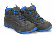 Boys Kids Hi-Tec Penrith Mid Waterproof Hiking Walking Boots Trainers Shoes Size